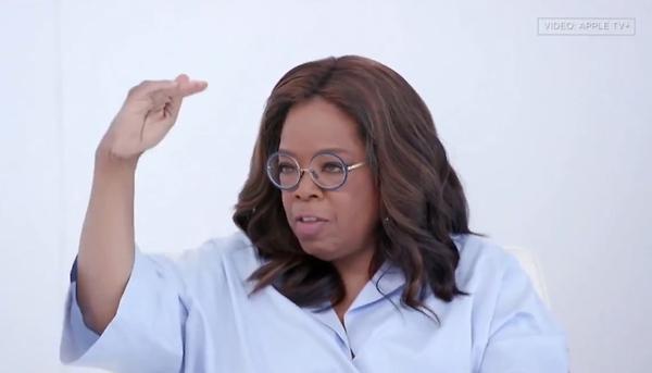 Billionaire Oprah Slams 'White Privilege'