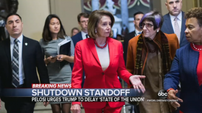 VOD - ABC Praises Nancy Pelosi for State of the Union Postponement Suggestion
