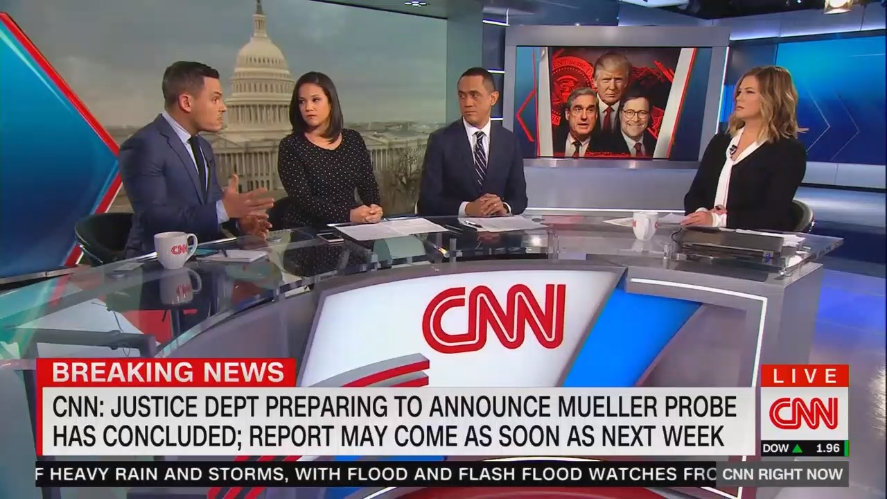 VOD - CNN Prepares Viewers for Lack of Substance from Mueller Report