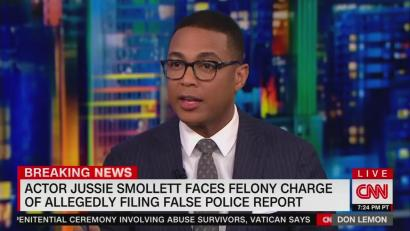 VOD - CNN Host: CNN Used Just the Facts in Reporting on Smollett