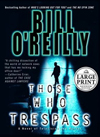 Those Who Trespass Large Print - Autographed