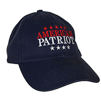 American Patriot Unstructured Baseball Cap
