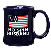 No Spin Husband Diner Coffee Mug