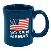 No Spin Airman Diner Coffee Mug