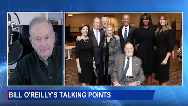 O'Reilly: Three Reasons President George H.W. Bush Wasn't Reelected