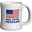 No Spin Veteran Diner Coffee Mug