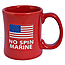 No Spin Marine Diner Coffee Mug