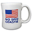 No Spin Coastie Diner Coffee Mug