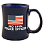 No Spin Police Officer Diner Coffee Mug