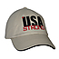 USA Strong Unstructured Baseball Cap with Sandwich Brim