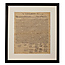 Declaration of Independence Framed Parchment Reproduction