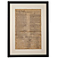 United States Constitution Framed Parchment Reproduction