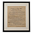 Bill of Rights Framed Parchment Reproduction