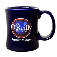 The O'Reilly Factor Premium Member Diner Coffee Mug