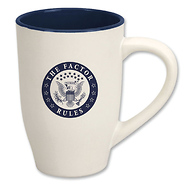 The Factor Rules XL Diner Coffee Mug