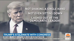 Nets Decry 'Angry,' 'Fuming' Trump, Hail Pelosi as 'Master Strategist'