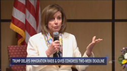 NBC and ABC Credit Nancy Pelosi With Delayed Immigration Raids