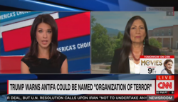CNN Found It Controversial that Trump Wants to Brand Antifa as Terrorists