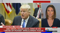 MSNBC Excited By New Dem Talking Points on Impeachment