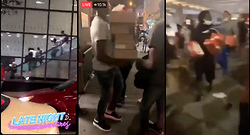 Monday Morning Chaos, Looting in Chicago