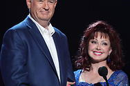 Bill with Naomi Judd at the CMT Music Awards in Nashville, Tennessee.