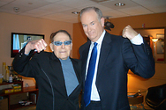 Bill with Jack LaLanne in the green room at the Fox News Channel.