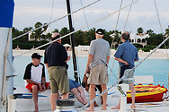 Bill and some friends take in a cruise around Anguilla.
