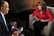 Behind the scenes at Bill's interview with Sarah Palin.