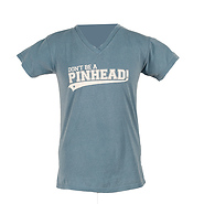 Don't Be A Pinhead Women's V-Neck T-Shirt