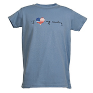 I Love My Country Women's T-Shirt
