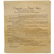 Bill of Rights Historical Parchment