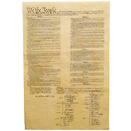 United States Constitution Historical Parchment