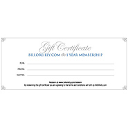 ONE YEAR Premium Membership - Gift Certificate - with your choice of free gift