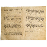 Gettysburg Address Historical Document