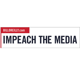 Impeach The Media Bumper Sticker - Pack of 5 stickers