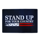 Stand Up For Your Country Doormat
