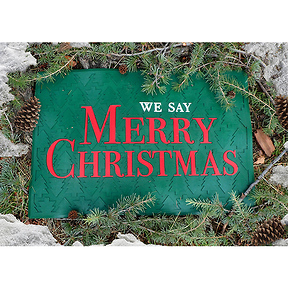 How Do You Say Merry Christmas.Bill O Reilly We Say Merry Christmas Doormat