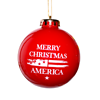 Merry Christmas America Ornament