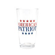 American Patriot Pint Glass Set
