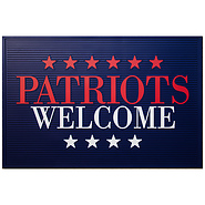 Patriots Welcome Doormat - $15 with yearly Premium Membership