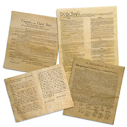 Replica Historical Document Bundle