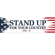 Stand Up For Your Country - Pack of 5 stickers