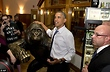 Obama touts strong economy amid chaos